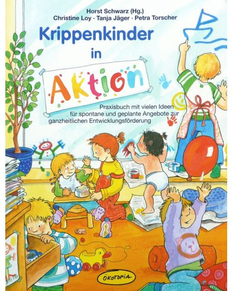Krippenkinder in Aktion