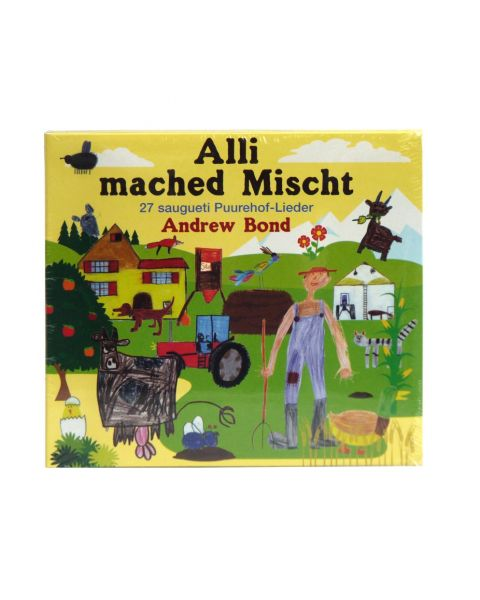 CD Alli mached Mischt, 27 saugueti Puurehof-Lieder