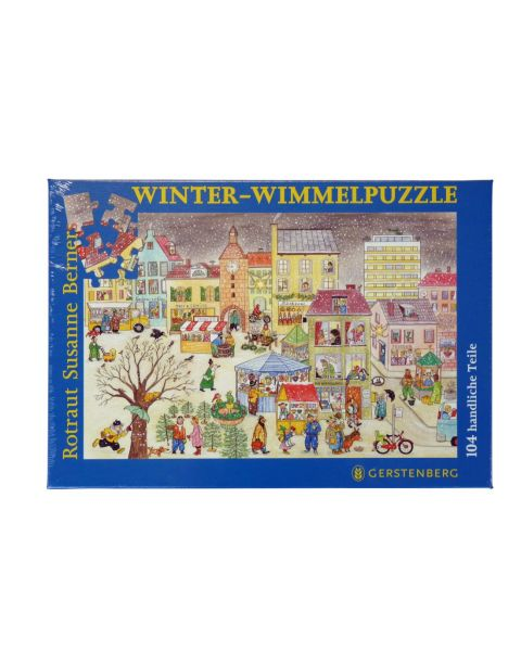 Wimmelpuzzle Winter