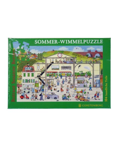 Wimmelpuzzle Sommer