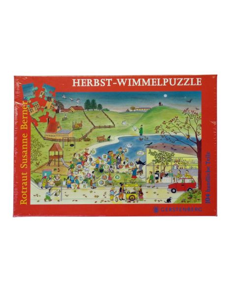 Wimmelpuzzle Herbst